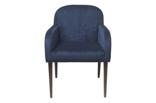 Chair Gotland dining chair velvet navy fra Cozy Living